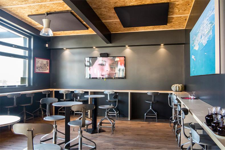 Isolation Phonique Insonorisation Restaurant Salle Plafond